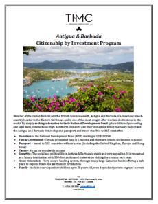 Antigua & Barbuda NDF screenshot