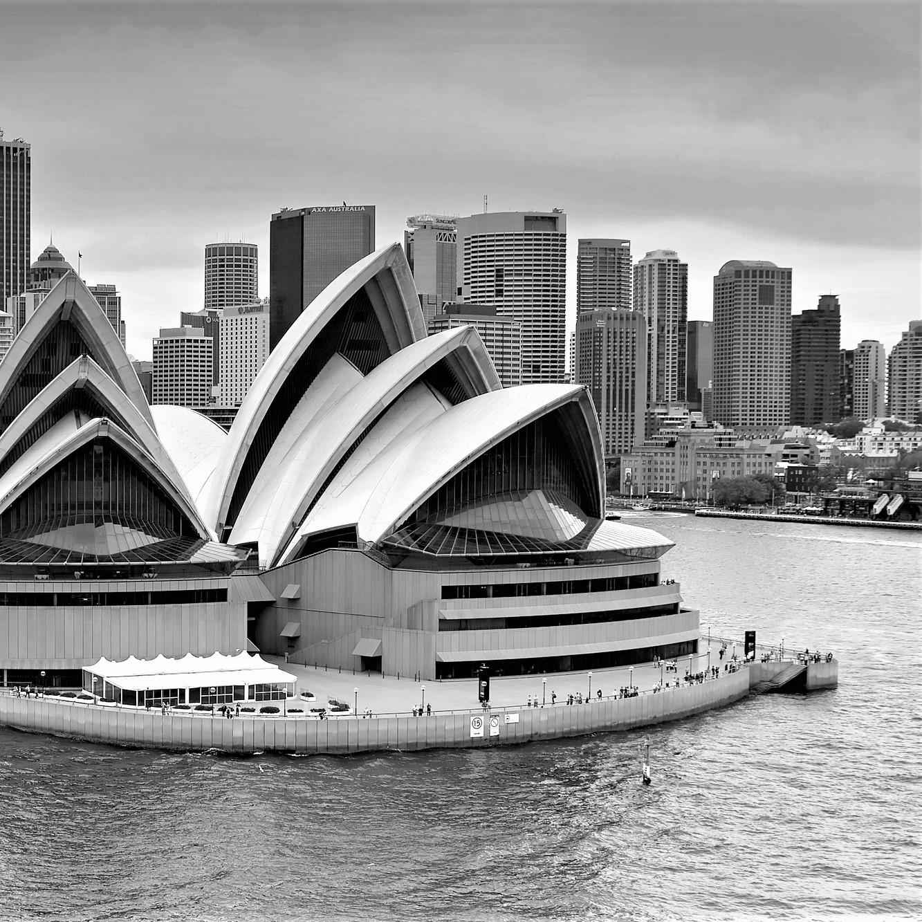 Australia BW