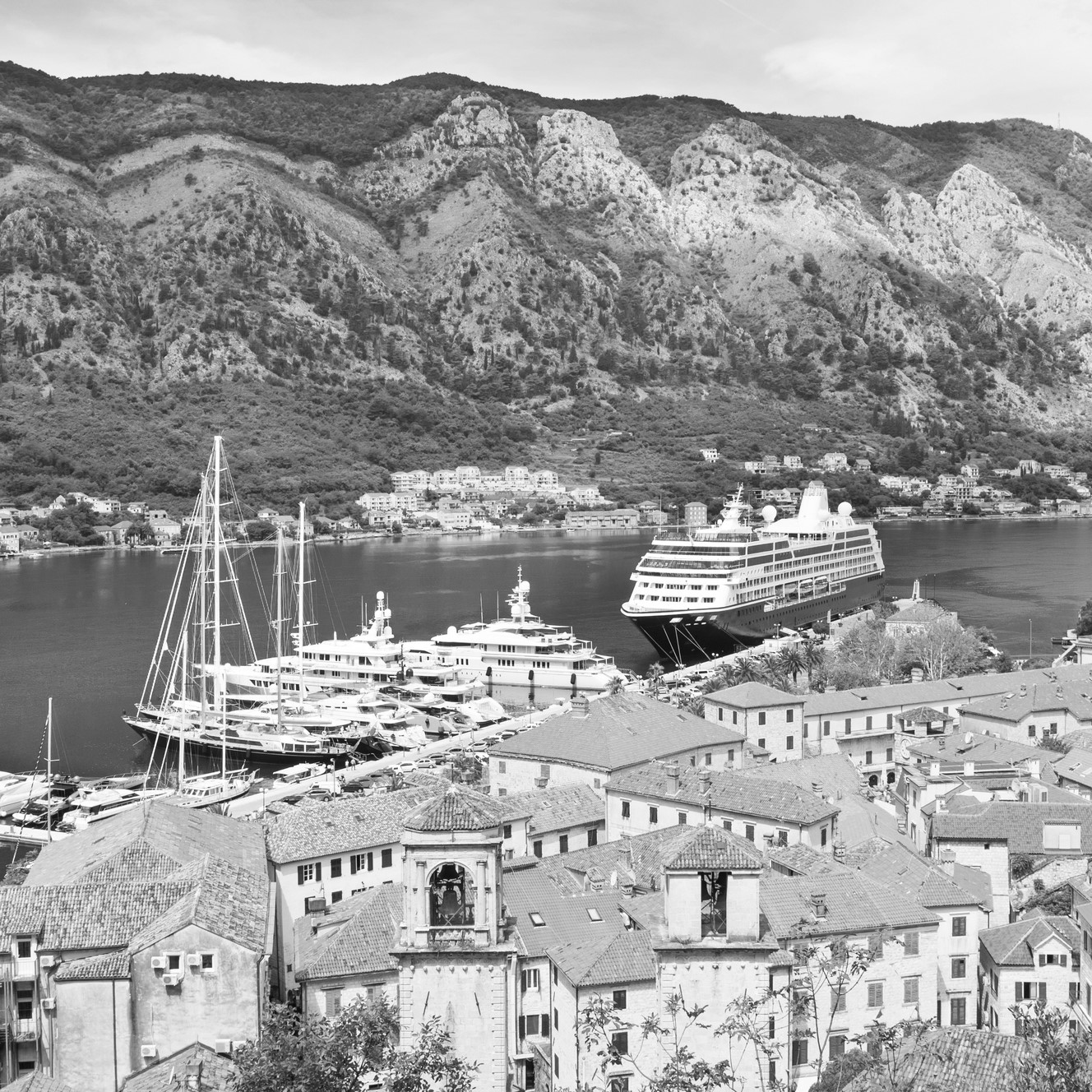 Montenegro Landscape BW
